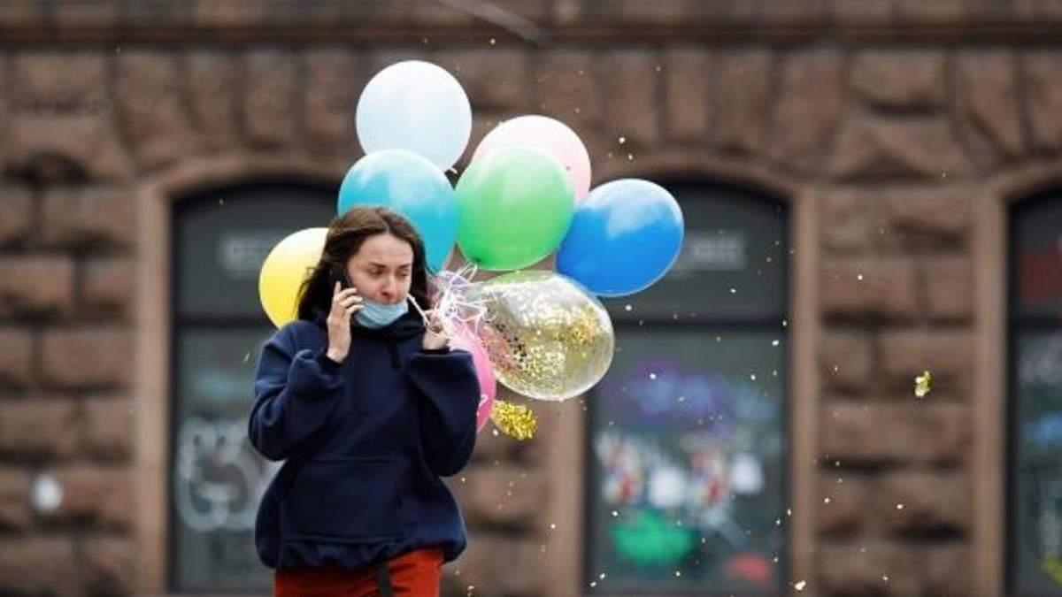 Киев оставляет красную карантинную зону с 1 мая 2021