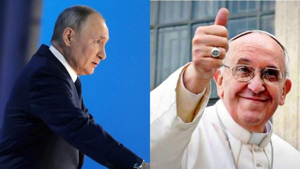 Папа Римський нічим не переконає Путіна, – Аймурзаєв