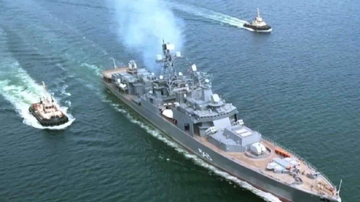 Російський фрегат ледь не самоліквідувався ракетою Калібр