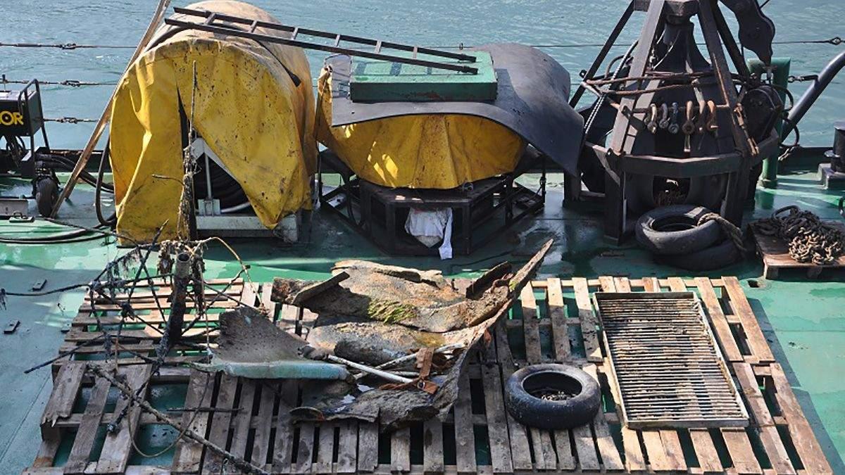 Біля пляжу Дельфін в Одесі повторно зачистили дно від уламків Delfi