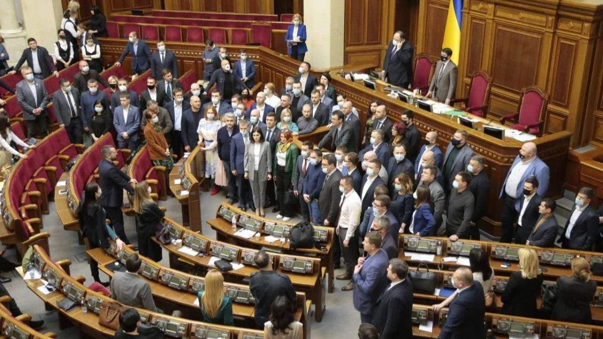 Слуги народа осудили марш в честь СС Галичина в Киеве
