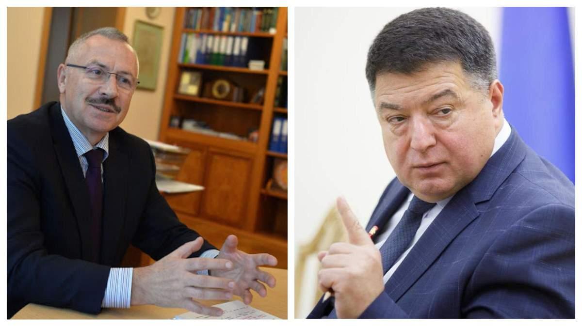 Кризис в КСУ: Головатый лишил Тупицкого зарплаты и служебного авто