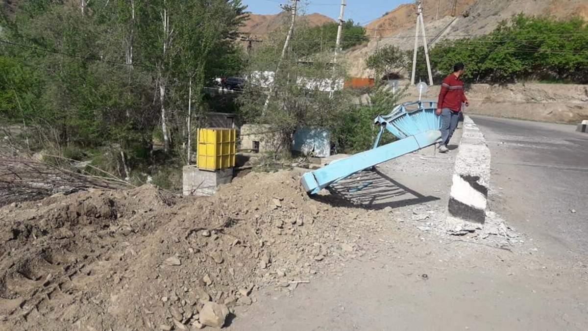 Таджикские военные обстреляли жилые дома Кыргызстана 01.05.2021