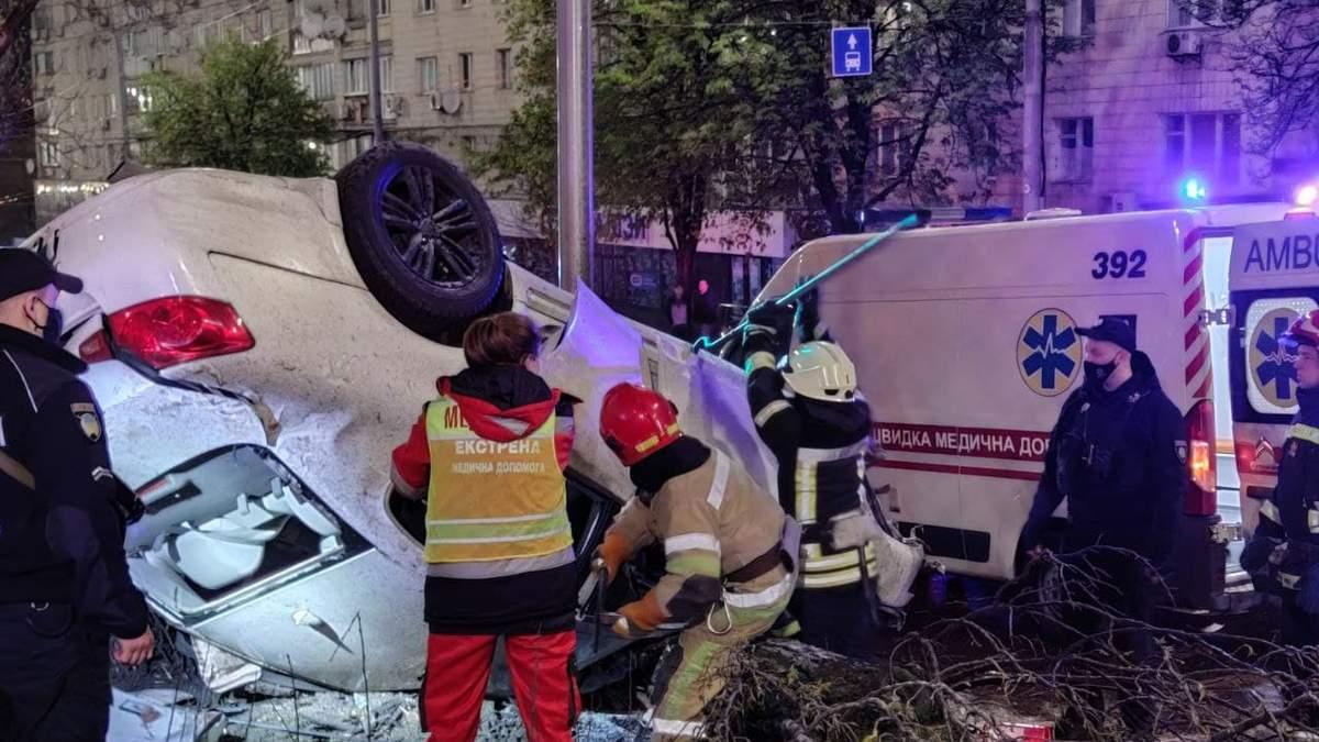 ДТП в Києві 1 травня 2021 за участю п'яного водія: загинула дівчина