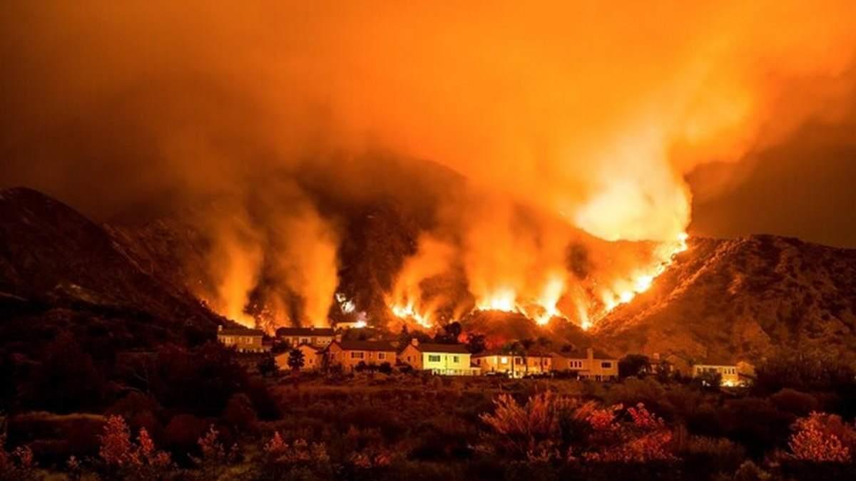 Пожежі в Каліфорнії у 2020 році стались, щоб приховати вбивство