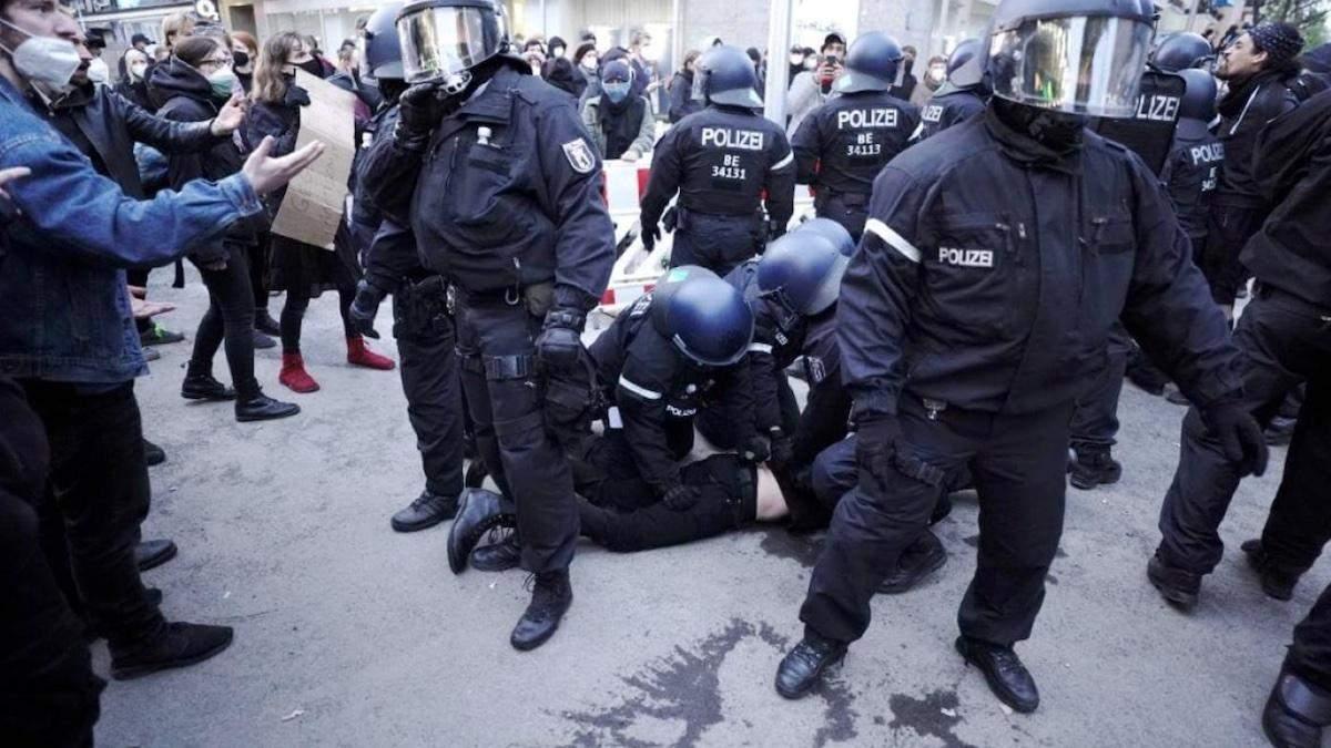 На акціях до 1 травня заворушення відбулися в Парижі та Берліні: відео