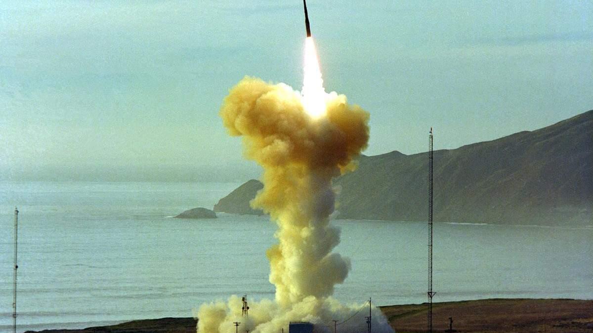 Пентагон в мае запустит межконтинентальную баллистическую ракету