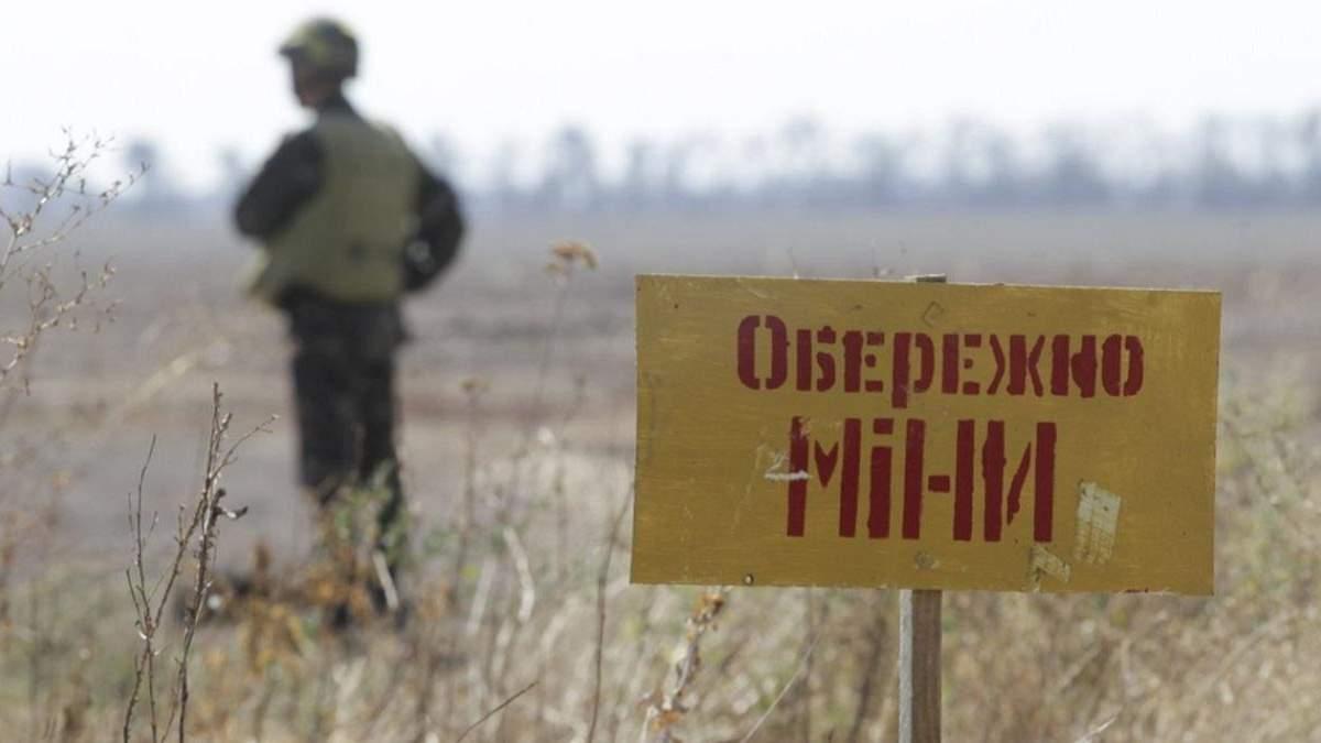 Сапери за тиждень знешкодили майже 300 снарядів і мін у зоні ООС