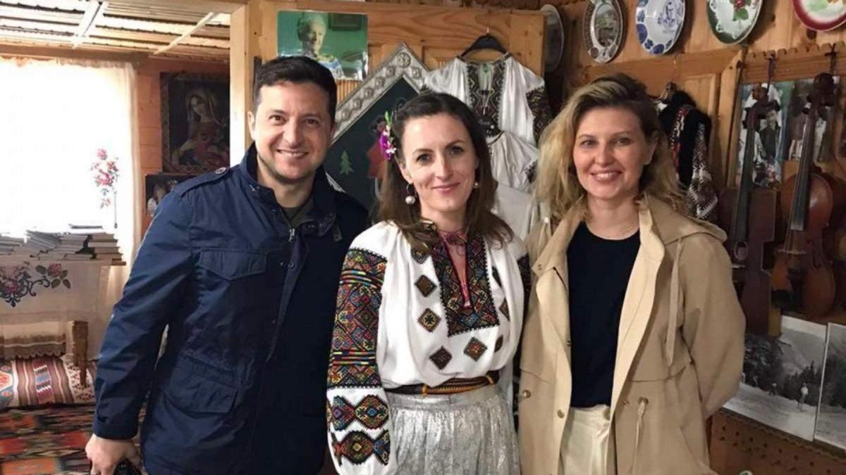 Не официальный визит, - Зеленский с женой посетил Прикарпатье