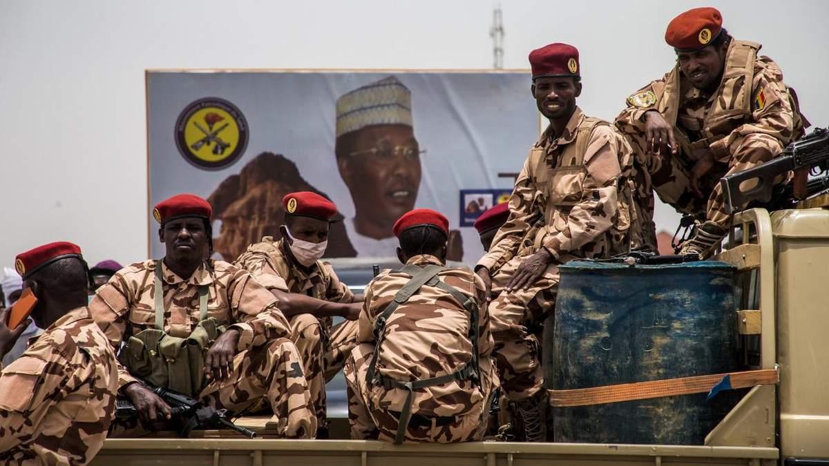 В Чаді після вбивства президента призначили тимчасовий уряд