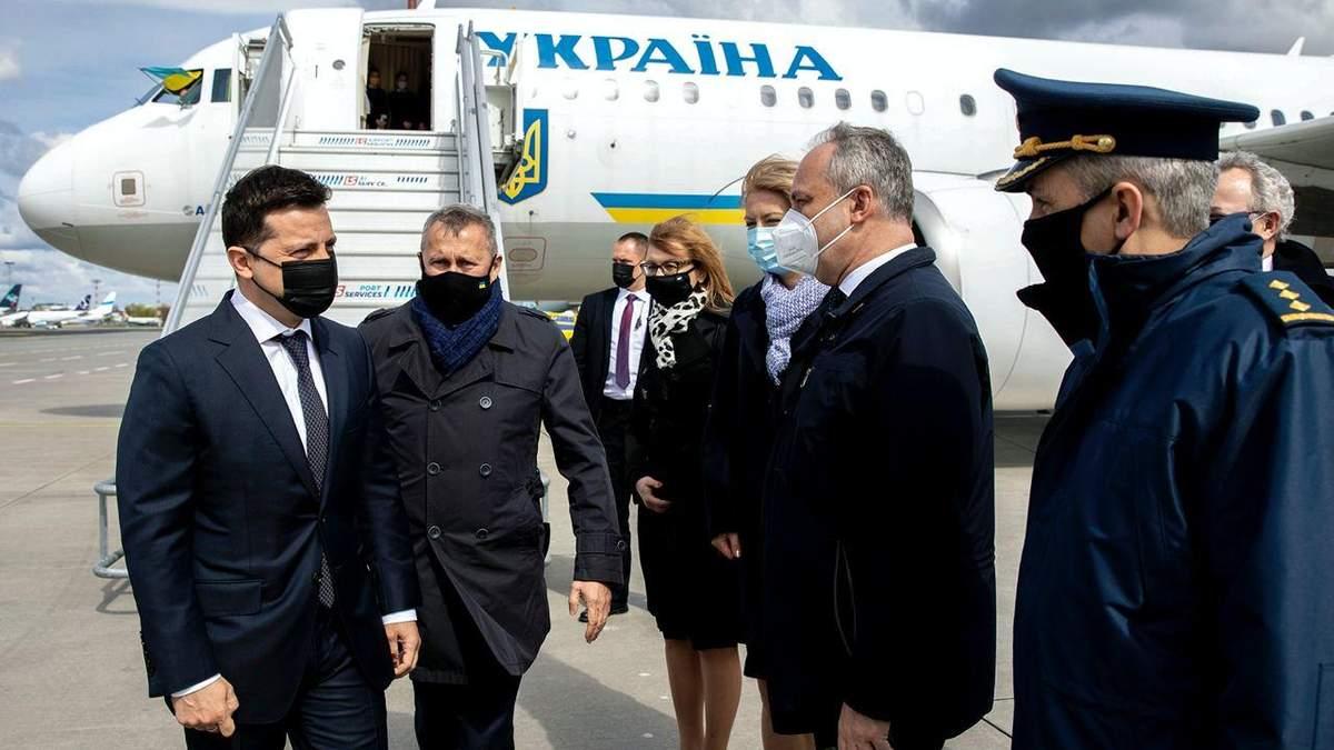 Зеленський прибув до Польщі з робочим візитом