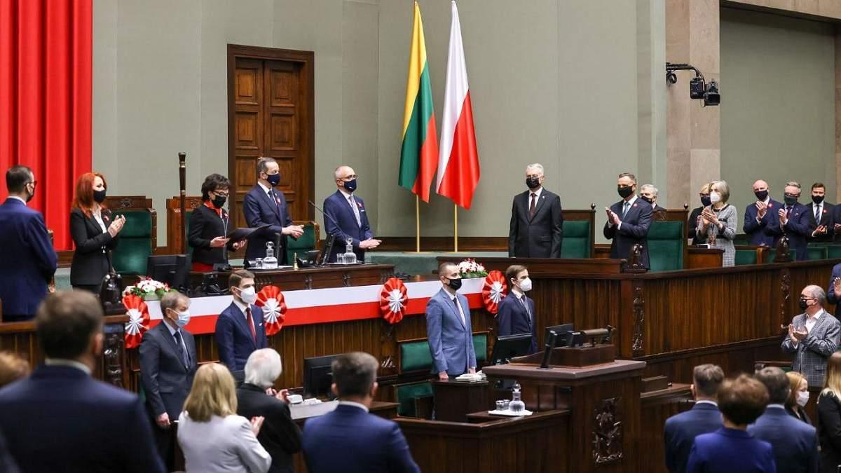 У Варшаві відзначають річницю схвалення Конституції: зібралися лідери 5 країн