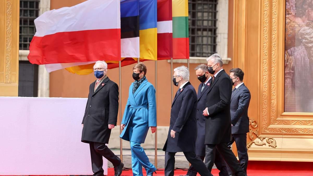 У Варшаві 5 країн підписали спільну деларацію