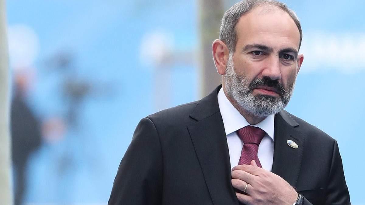Парламент Вірменії відмовився призначати Пашиняна прем'єром