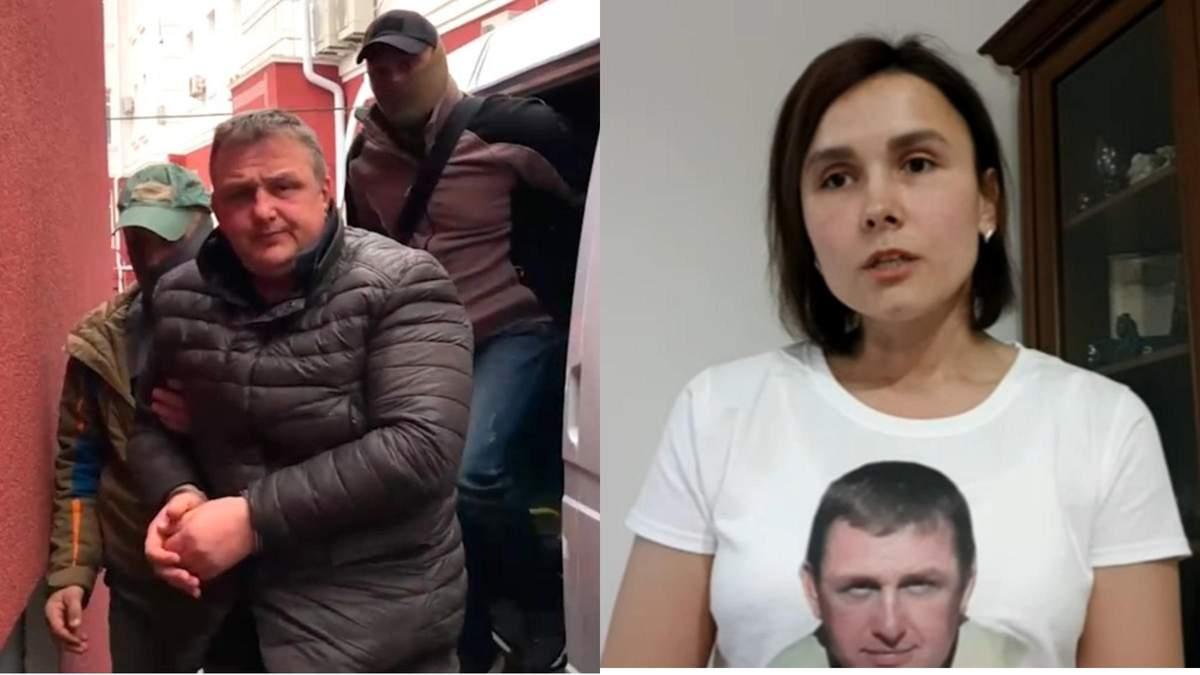 Жена задержанного оккупантами журналиста Есипенко заявила о пытках