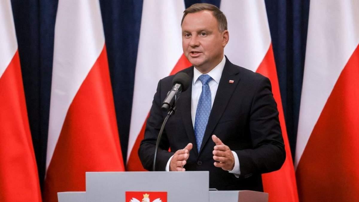 Дуда: Дорожню карту для вступу України в НАТО обговорять у червні