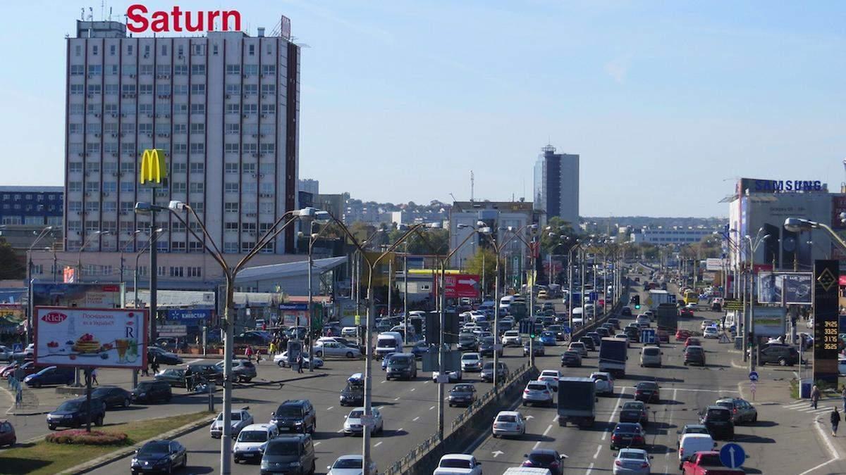 У Києві на Степана Бандери до кінця травня обмежать рух транспорту