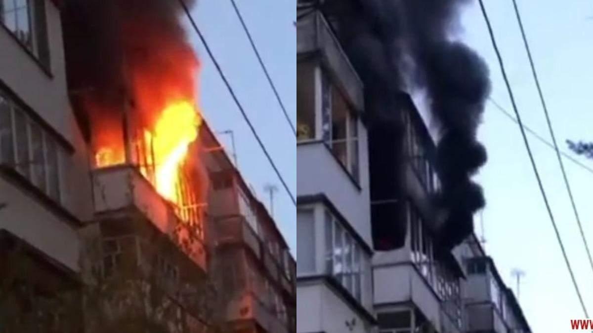 Пожар в Житомире: сгорел 81-летний мужчина