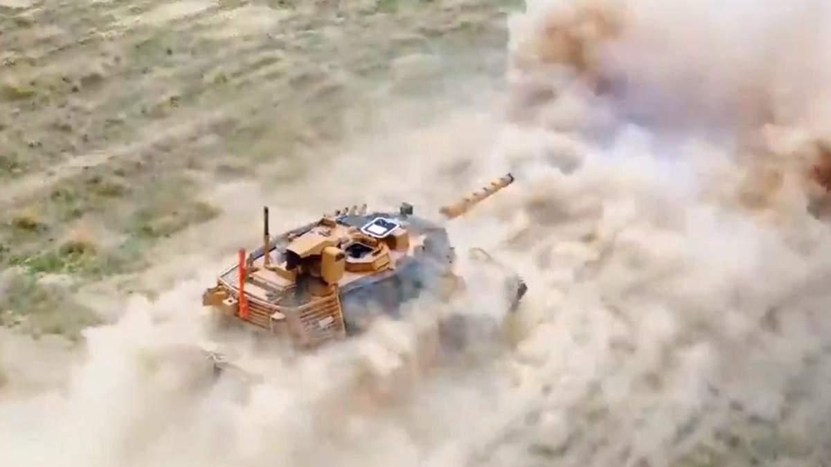 Туреччина тестує свою систему управління вогнем VOLKAN-M: відео