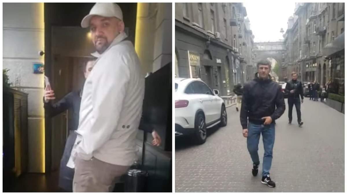 Охранники Басты набросились на мужчину, который спросил певца о Крыме