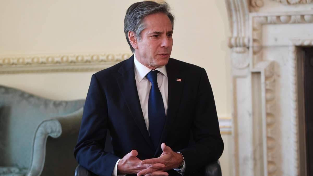 США виступають рішуче проти Північного потоку-2, – Блінкен