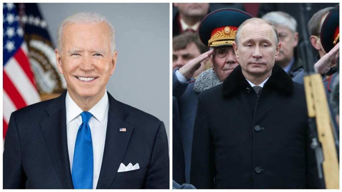 Байден має надію, що побачиться із Путіним у червні