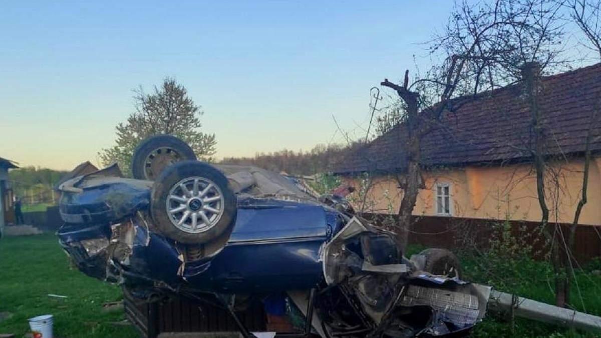 ДТП в селе Корытное 4 мая 2021: авто перевернулось, жертва