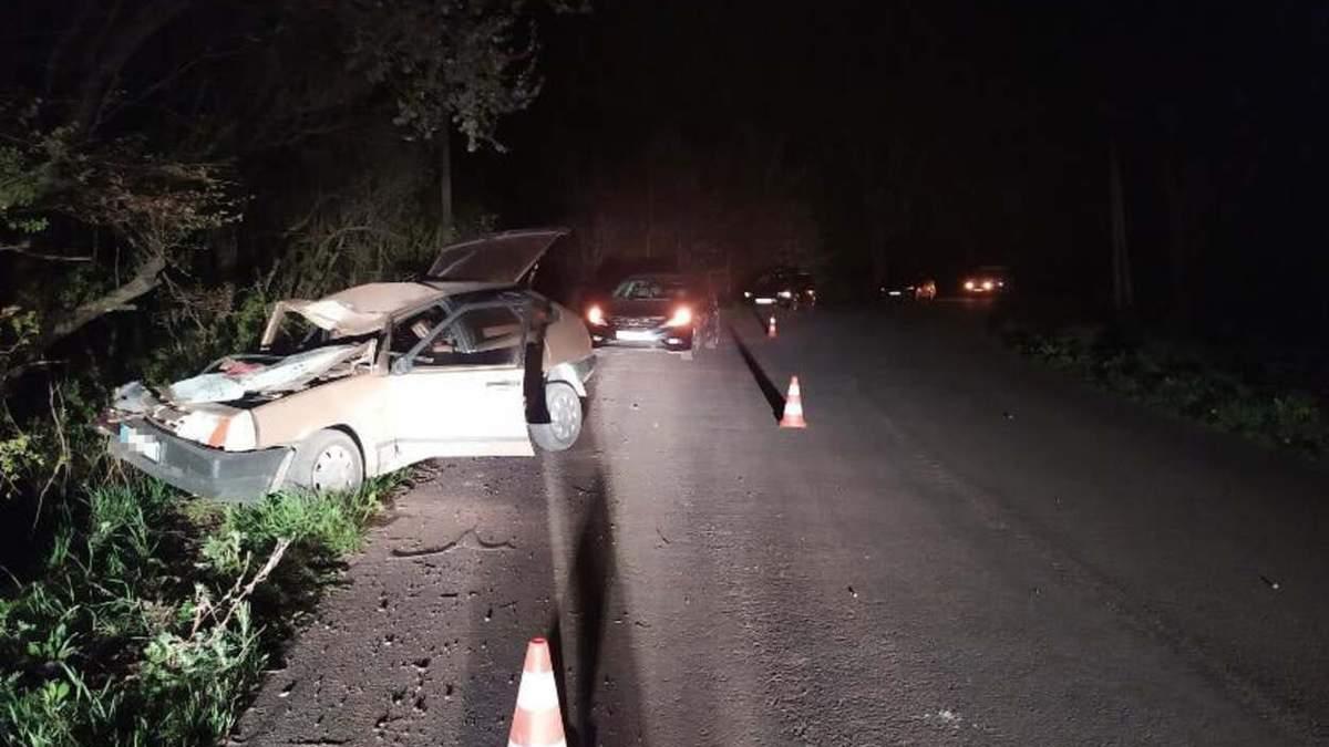 Втратив дружину: водій під дією наркотиків спричинив смертельну ДТП неподалік Львова – фото