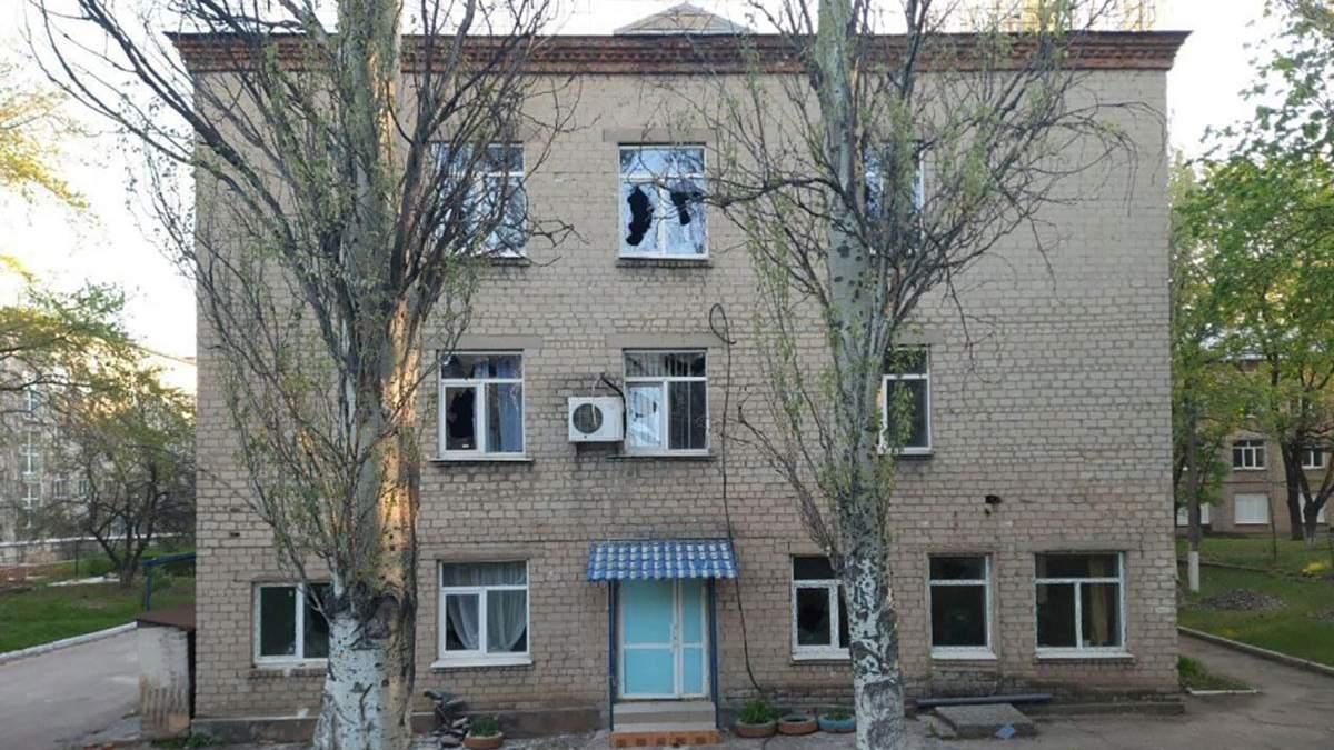 Обстріл COVID-лікарні на Донеччині поліція кваліфікувала як теракт