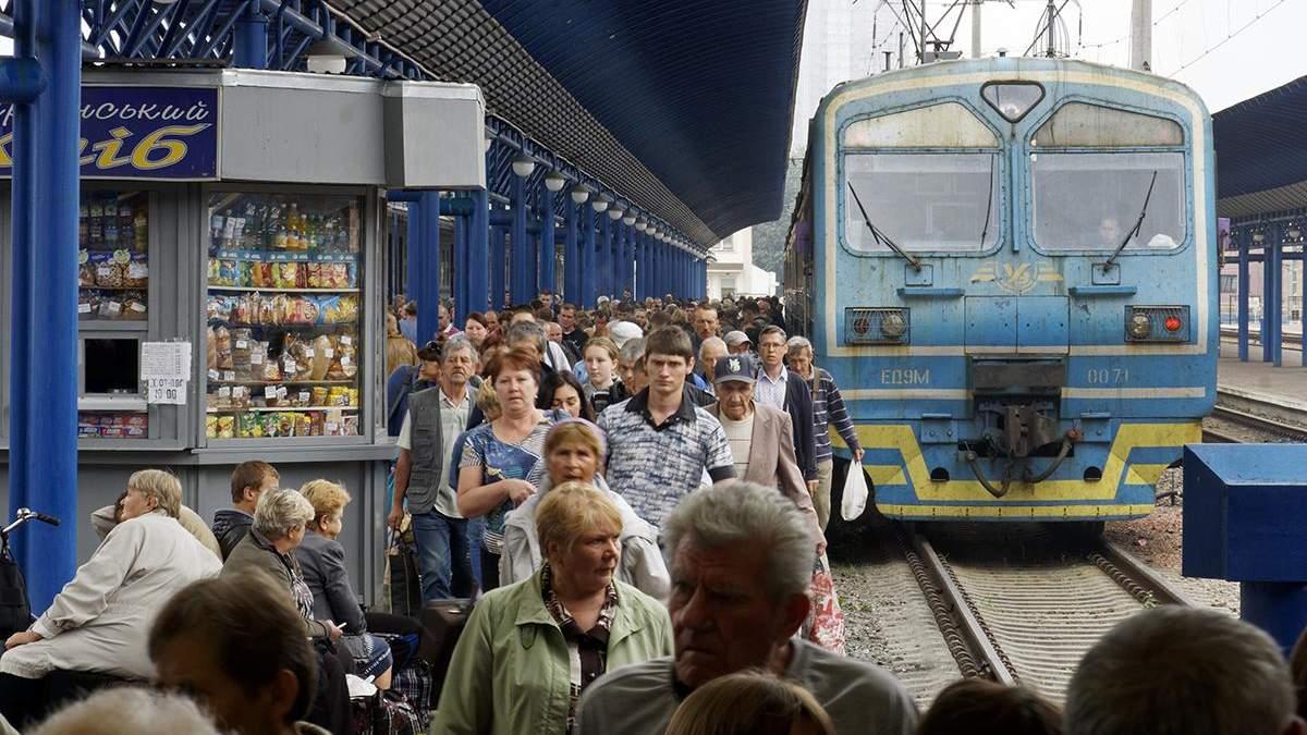 Из-за обвала моста на Львовщине поезд Львов - Черновцы будет курсировать в Луцк