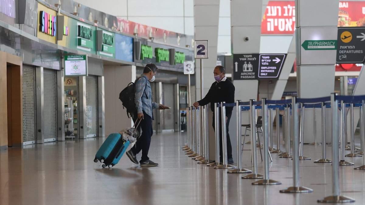 Ізраїль заборонив в'їзд громадянам України з 4 травня 2021