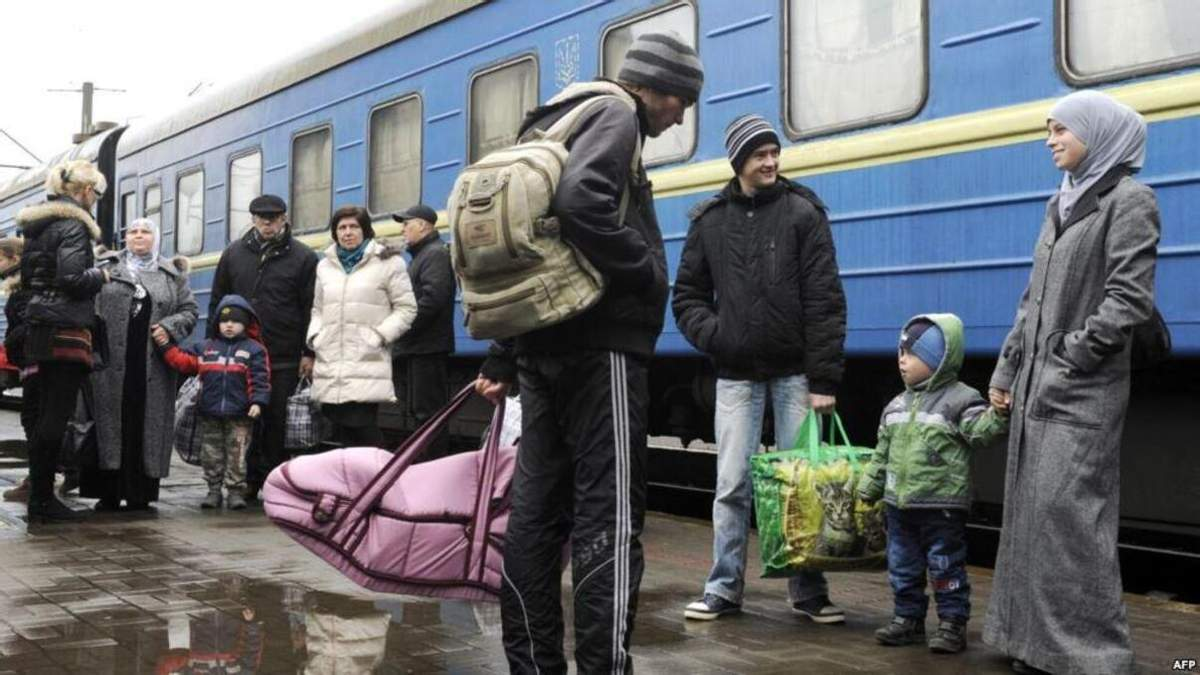 Де в Україні мешкає найбільше переселенців: карта