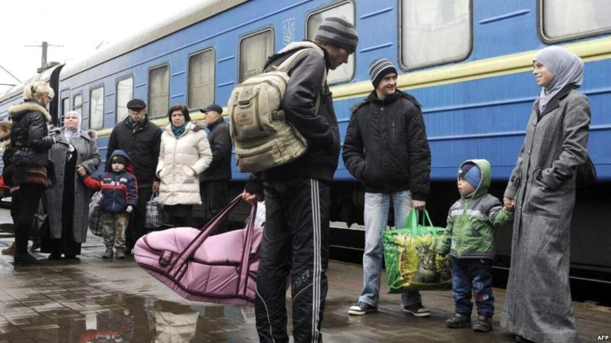 Где в Украине живет больше переселенцев: карта