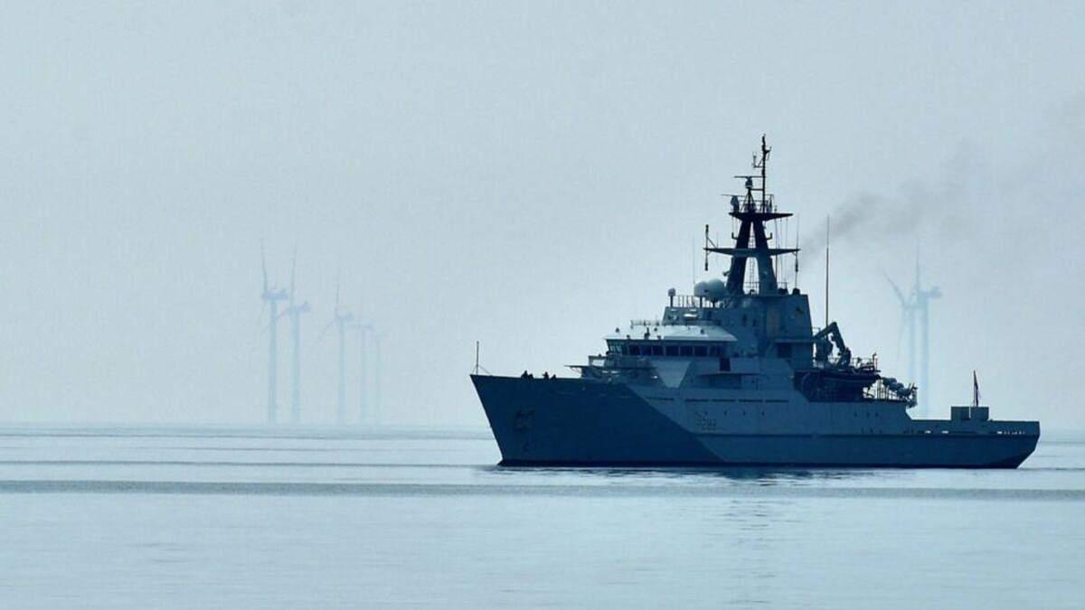Британія направила бойові судна до Джерсі на тлі суперечки з Францією