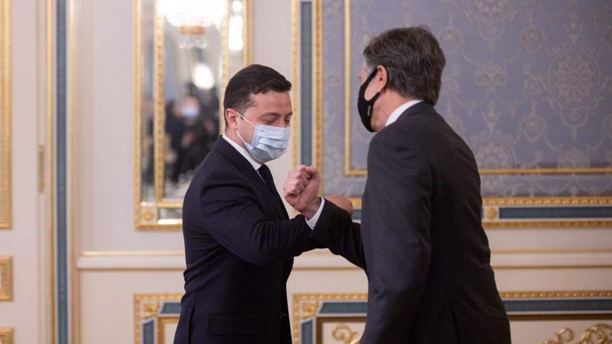 У Києві почалась зустріч Блінкена та Зеленського
