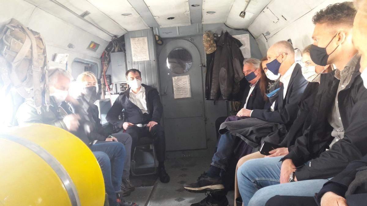 Главы МИД Нидерландов, Бельгии и Люксембурга отправились на Донбасс
