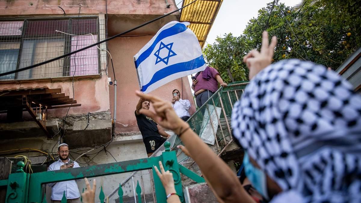 В Восточном Иерусалиме длятся протесты из-за выселения палестинцев