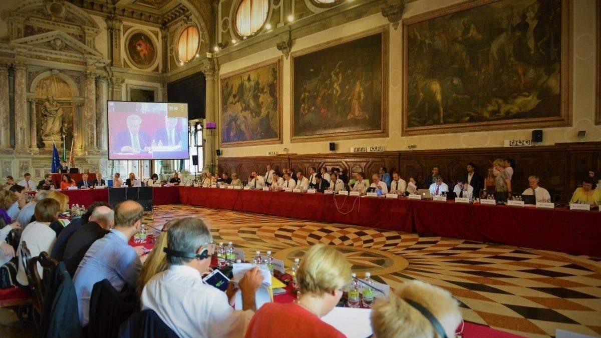 Венецианская комиссия поддержала наказание за ложное декларирование