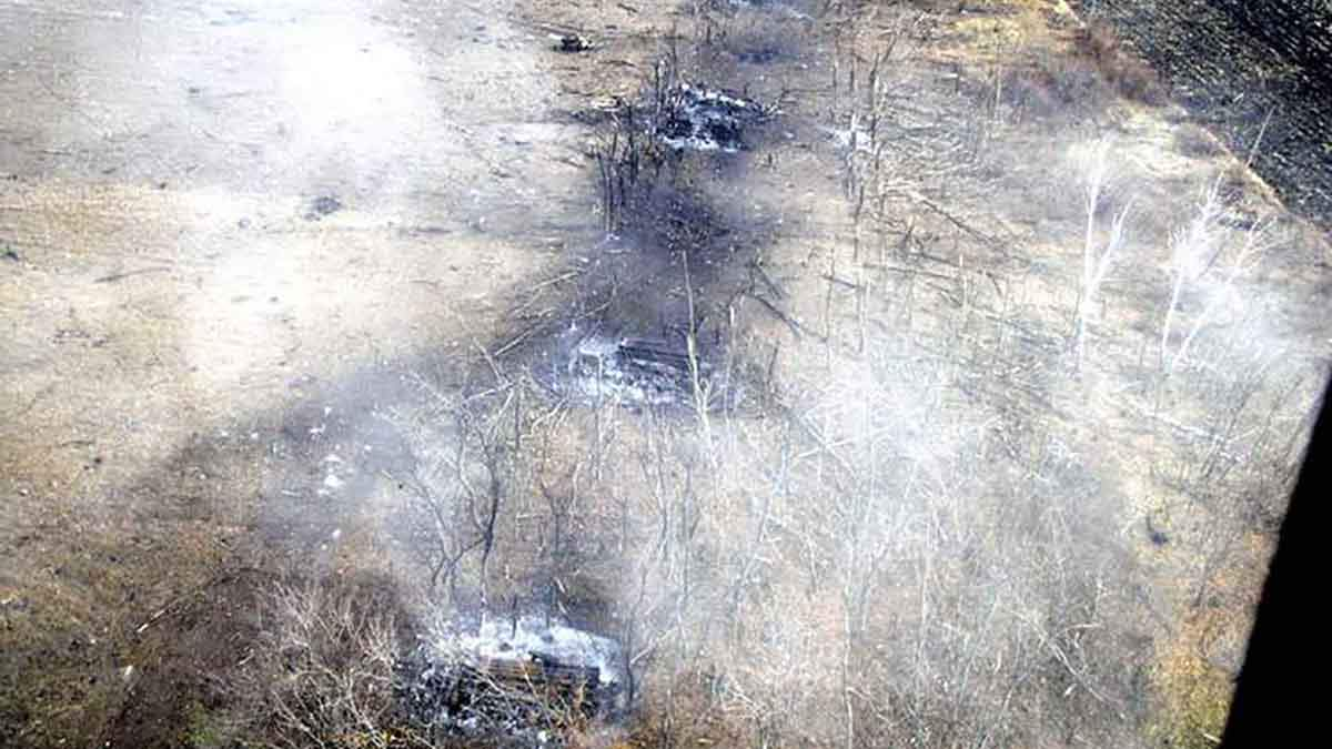 Знищення техніки під час вибуху у Сватовому: розслідування завершили