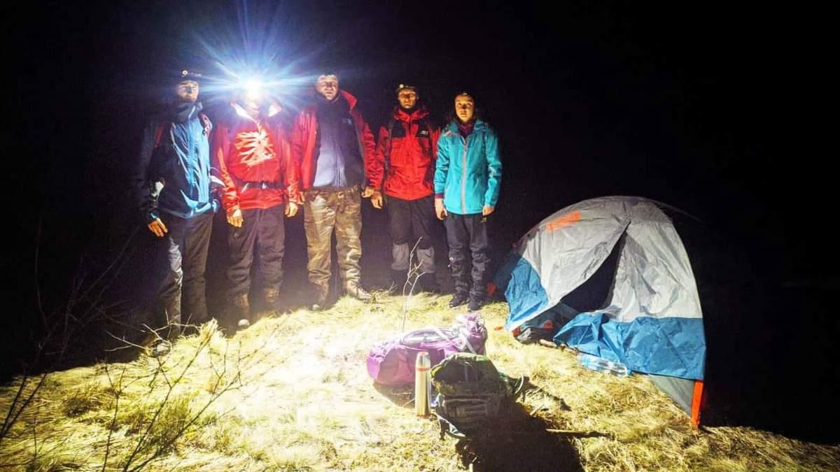 В Карпатах врятували туристку з Харкова
