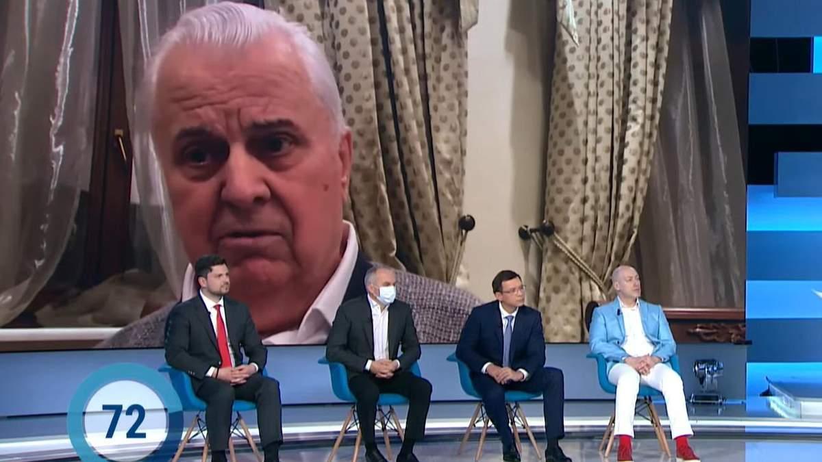 Кравчук послав до чортової матері прокремлівських політиків