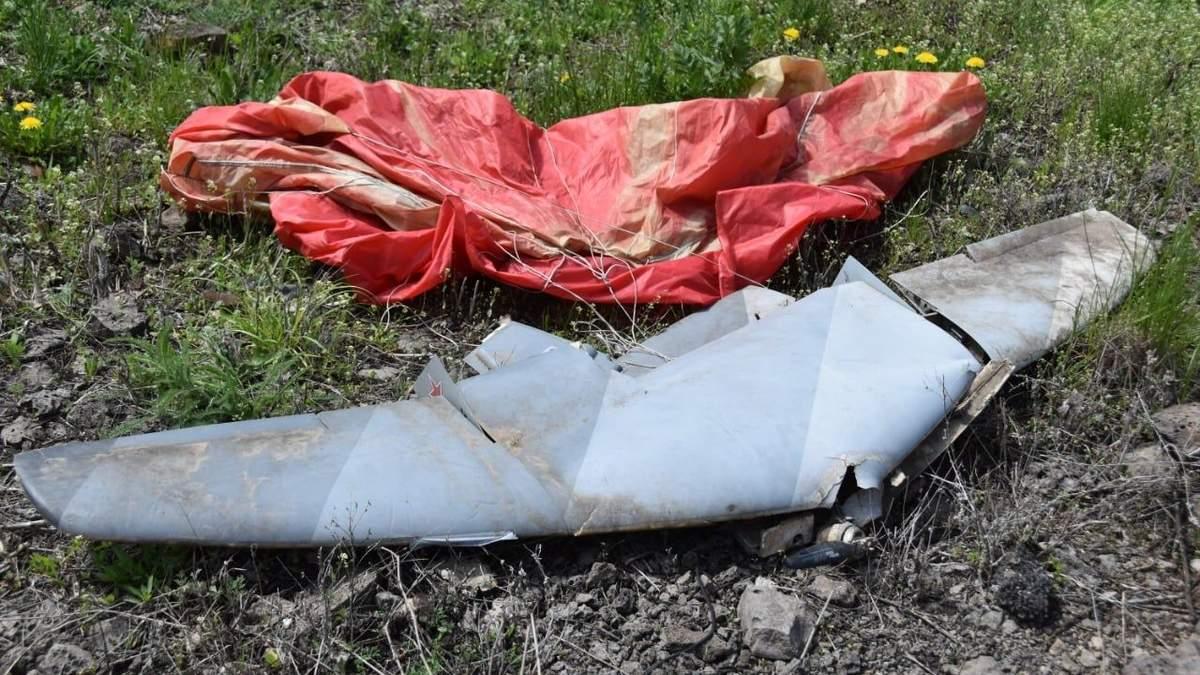 Українські бійці збили безпілотники бойовиків на Донбасі: фото