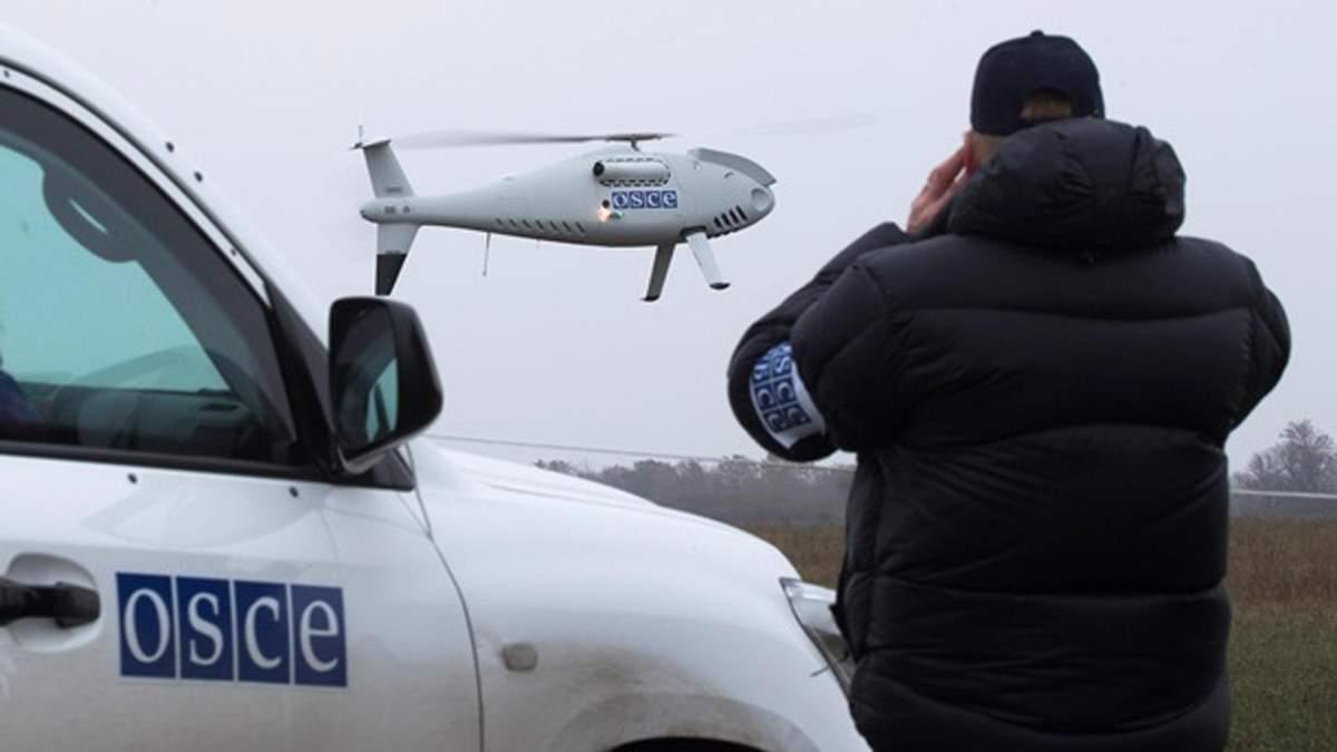 ОБСЕ: Оккупанты разместили сотни единиц техники за линией отвода