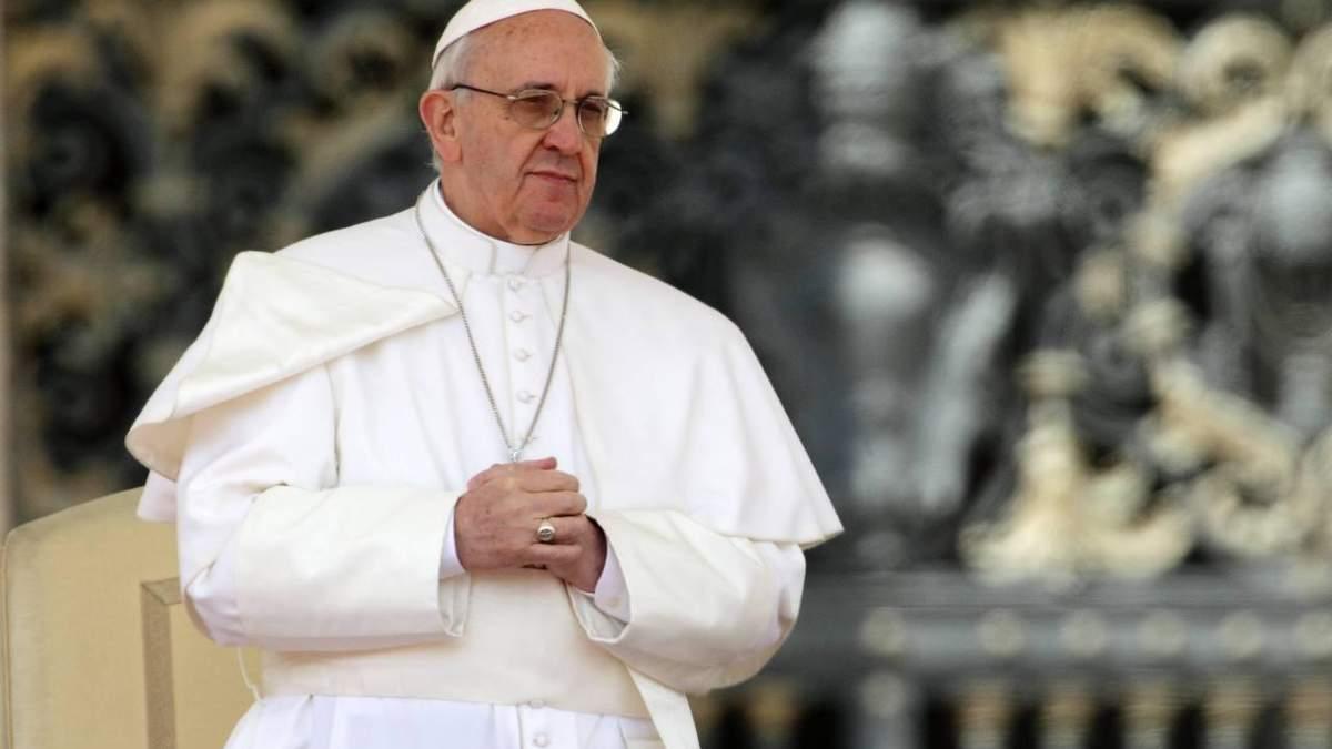 Папа Римський закликав зупинити дію патентів на вакцини від COVID-19