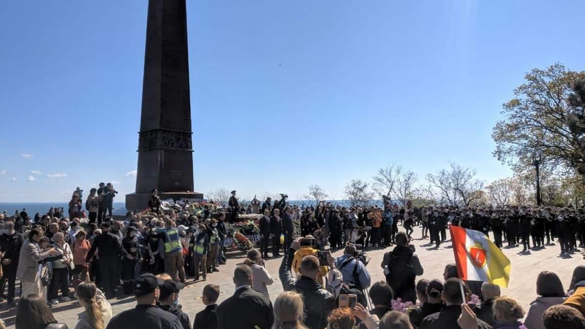 Провокации и запрещена символика: День победы над нацизмом в Одессе