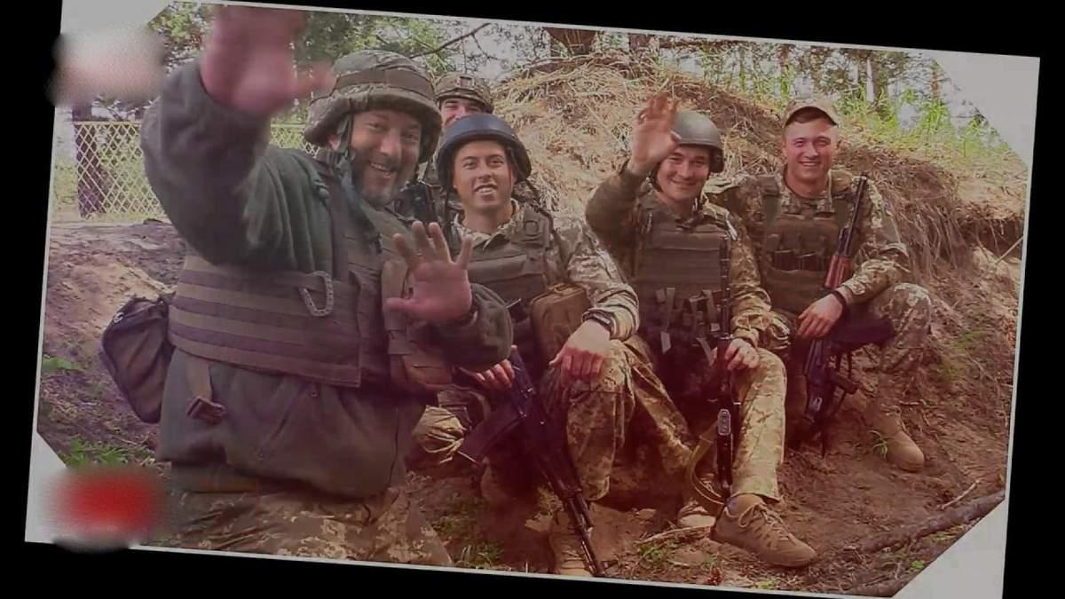 Военные ООС поздравили украинок с Днем матери: видео