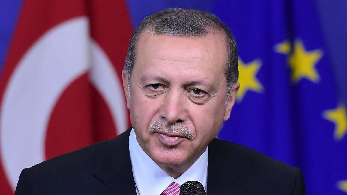 Эрдоган заявил, что ЕС не сможет сохранить свою мощь без Турции