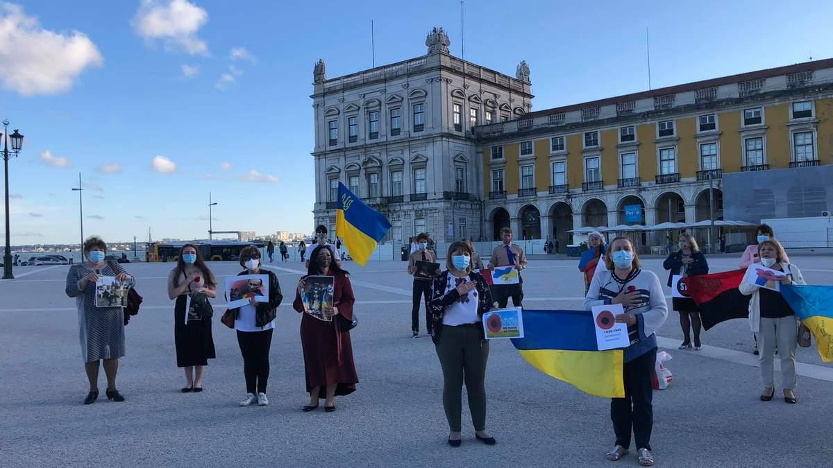 У Португалії українці поскаржились парламенту на місцевих комуністів
