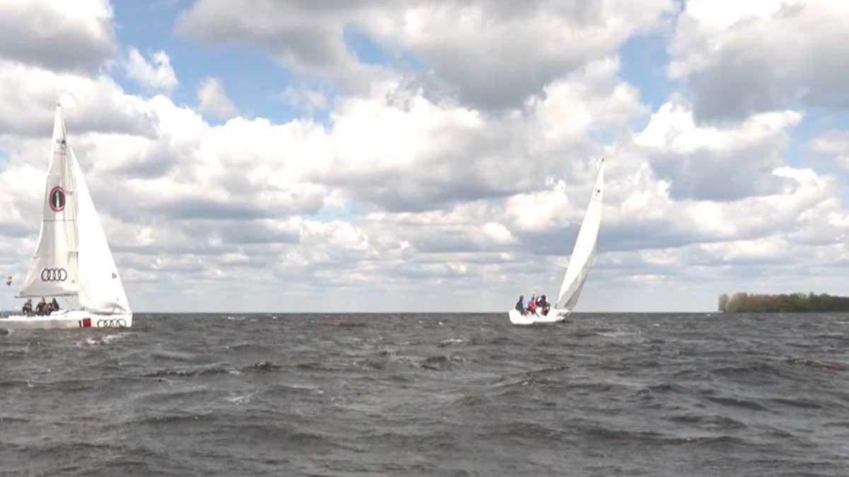 На Київщині відбулась яхтова регата Травневі вітрила