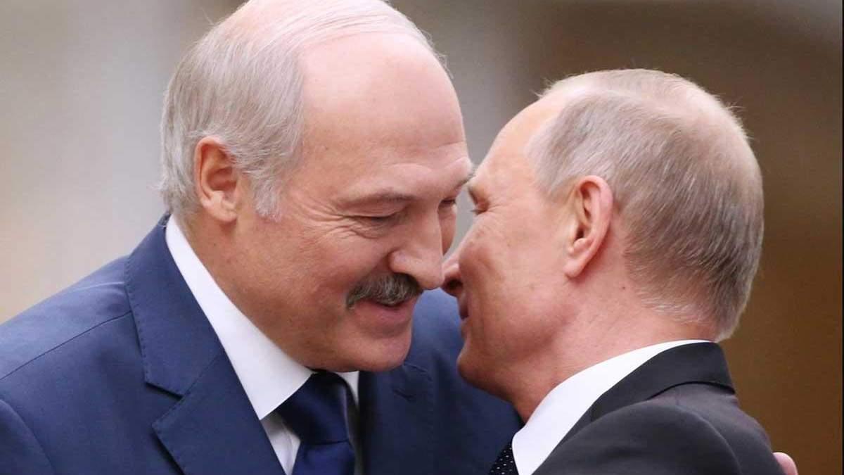 Путин и Лукашенко поговорили об интеграции Украины в НАТО